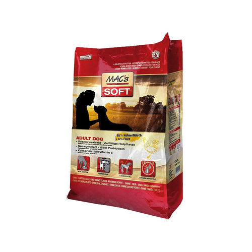 MAC´s SOFT Adult Dog Huhn 5 kg