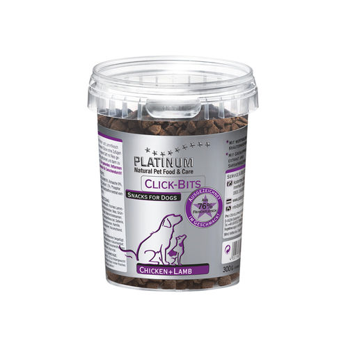 PLATINUM Click-Bits Chicken+Lamb 300 g