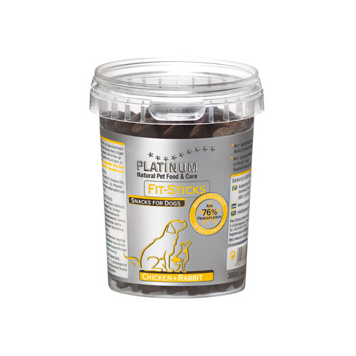PLATINUM Fit-Sticks Chicken+Rabbit 300 g