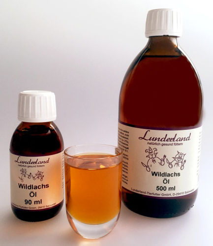 Lunderland - Wildlachsöl 500 ml
