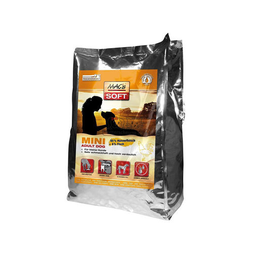MAC´s SOFT Adult Dog MINI Huhn 15 kg