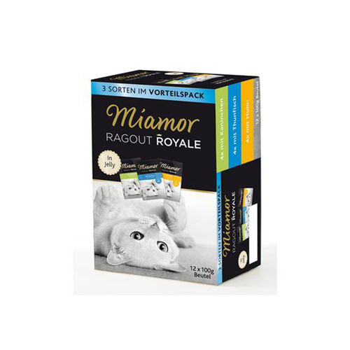 MIAMOR Ragout Royale in Jelly 12 x 100 g Multipack