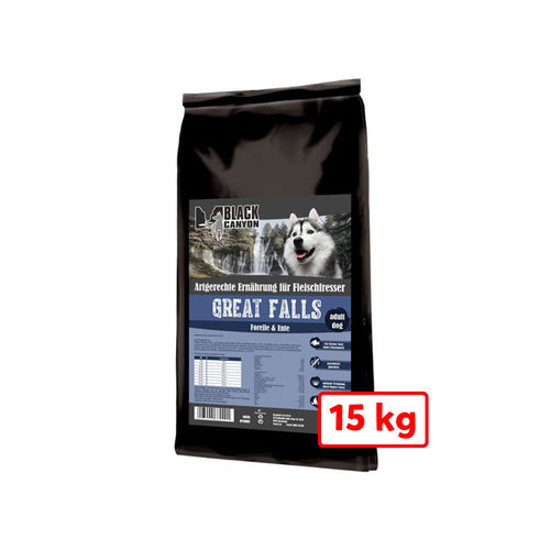 Black Canyon GREAT FALLS (Forelle & Ente) 15 kg