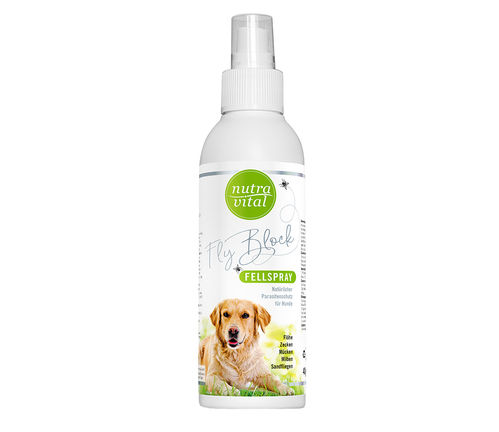 NutraVital Fly Block Fellspray Hund 400 ml
