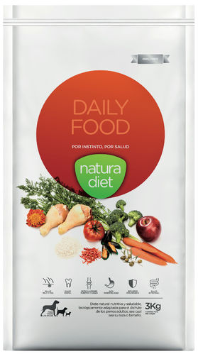 NATURA DIET Daily Food (Huhn & Reis monoprotein) 500 g