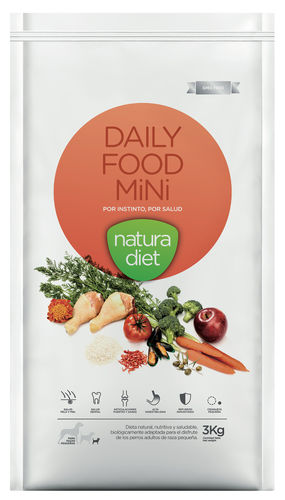 NATURA DIET Daily Food MINI (Huhn & Reis monoprotein) 500 g